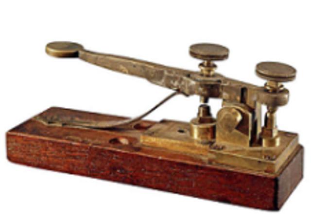 Primeira Transmissão e mensagens por telegrafo