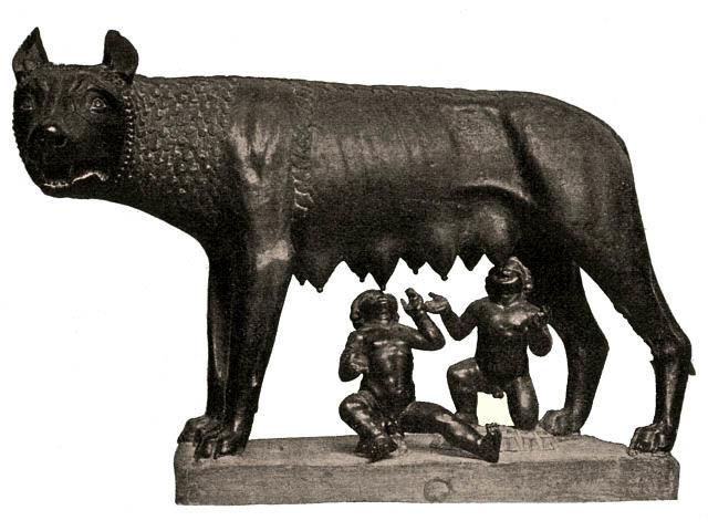 Fundación de Roma: Leyenda de Rómulo y Remo