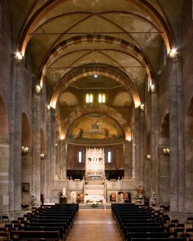 Basílica de San Pietro in Ciel d'Oro,