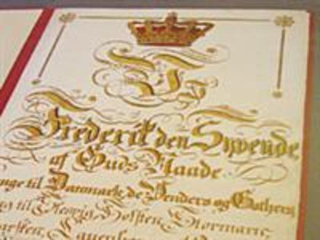 Grundloven Indføres