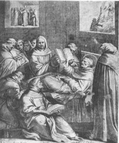 Muere Tomas de Aquino