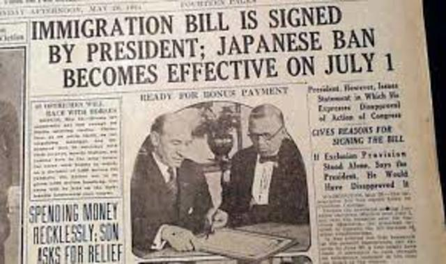 Immigration Act 1924