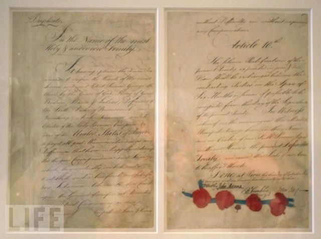 The First Treaty of Paris Concluded