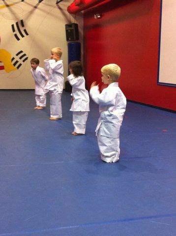 White Belt in Tae Kwon Do!