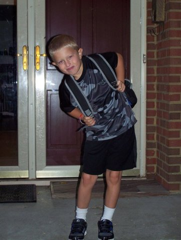 First Day of First Grade!