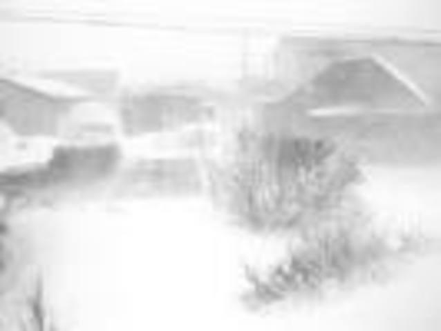 A terrible blizzard