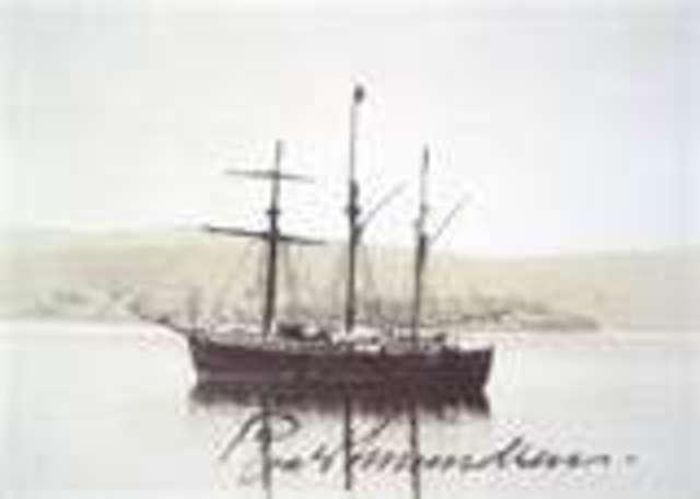 Amunsend charted the norwigian ship Fram
