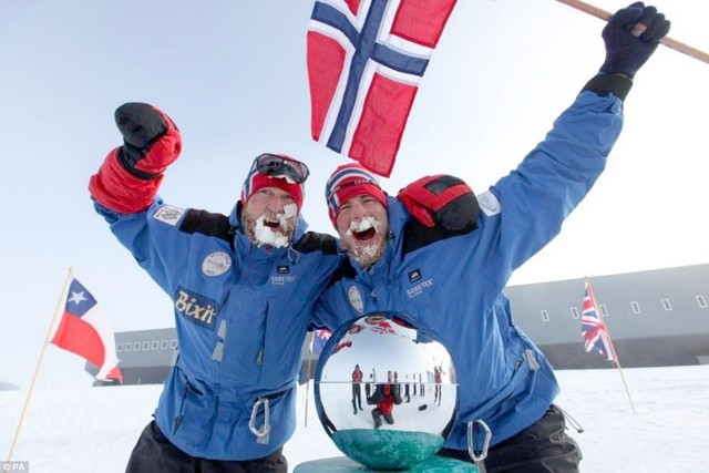 Admundsen and his crew reached antarctica.