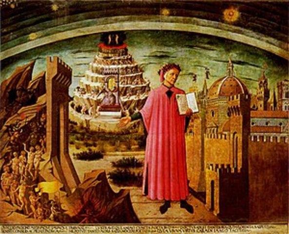 "Dante Alighieri termina ""La Divina Comedia"""