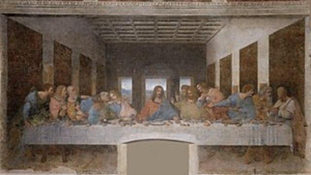 """Leonardo Da Vinci termina """"La última cena"""""""