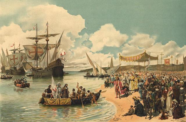 Vasco de Gama llegó a la India