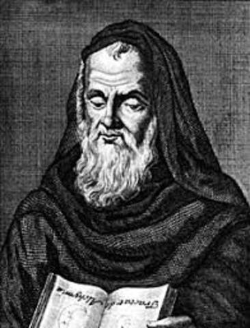 Roger Bacon (Ilchester, c. 1214 - Oxford, 1294) fue un filósofo, protocientífico y teólogo escolástico