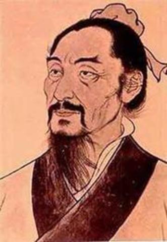 Mo-Ti Folosofo Chino filósofo chino que describe la imagen invertida al pasar por un orificio
