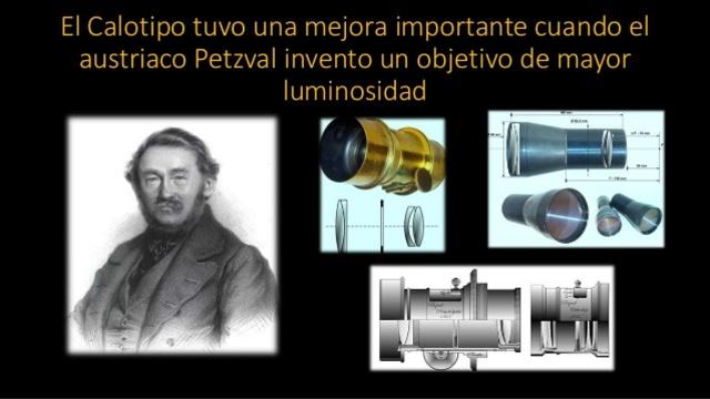 En 1854 aparece a través de Petzval, el objetivo de gran angular que abarcaba 92 grados