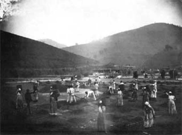 Charles E. Bennett en 1878Exposición del negativo fotográfico en seco