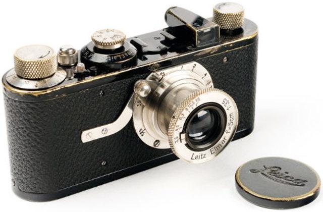 Primera cámara de 35 mm