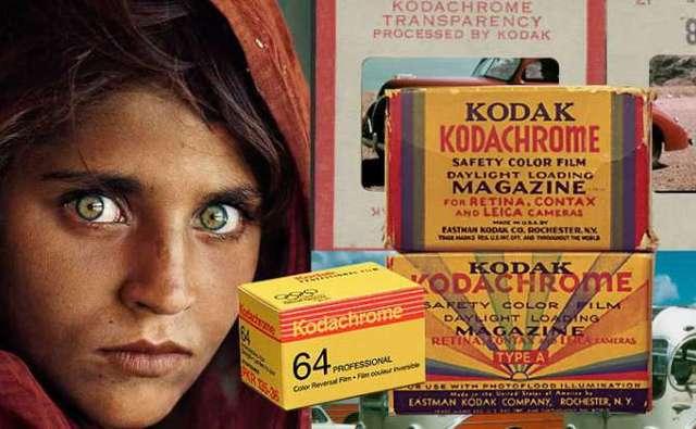 1935-En Kodak se crea la película color Kodachrome