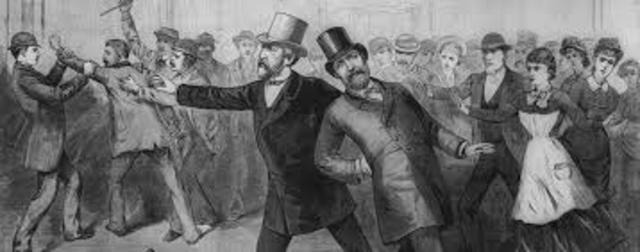 Assassination of President Garfield