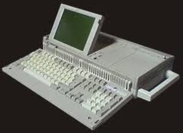 First laptop computer is designed
