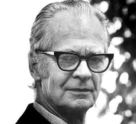B. F. Skinner (Conductismo, 1904-1990)