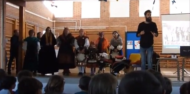 EL vestido y la danza en Sanabria