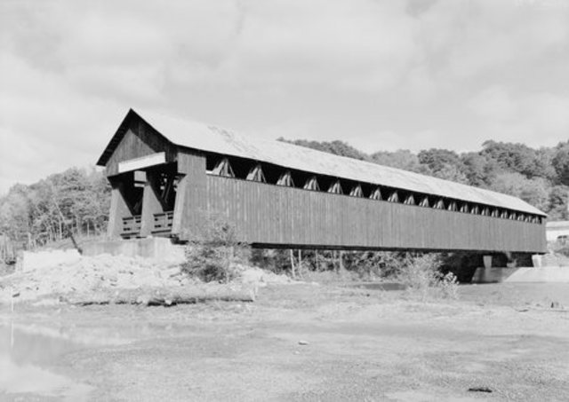Covered Bridge Takes Over