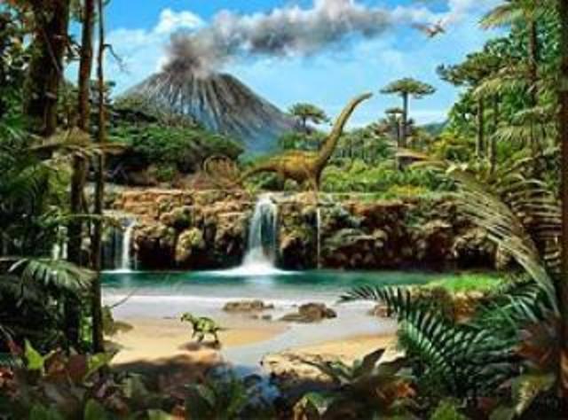 Reinado de los Dinosaurios y Periodo Jurásico