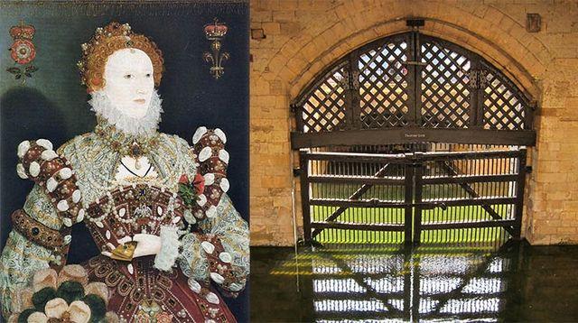 Elizabeth I Imprisoned in Tower of London
