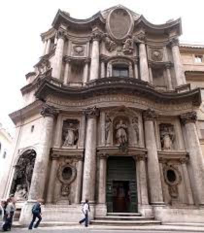 Borromini, Chiesa di San Carlo alle Quattro Fontane