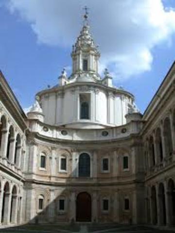 Borromini, Chiesa di Sant'Ivo alla Sapienza