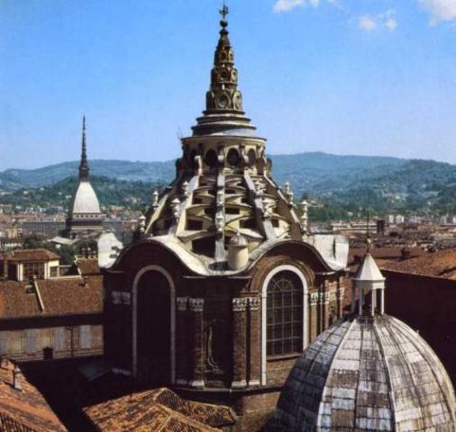 Guarino Guarini, Cappella della Sacra Sindone