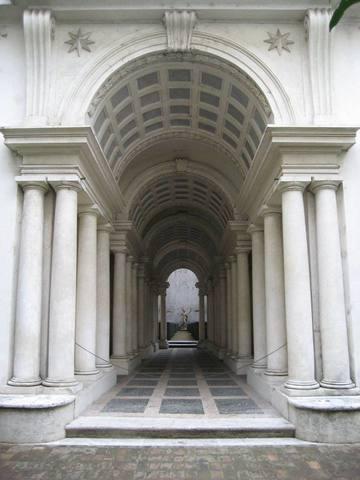 Borromini, Galleria di Palazzo Spada