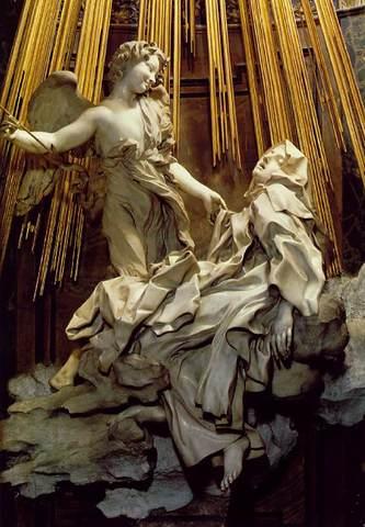 El extasis de Santa Teresa