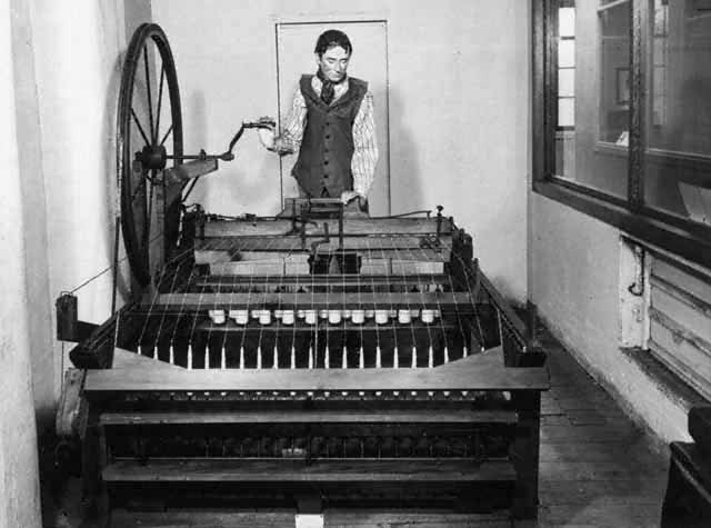 Invention of Spinning Jenny.