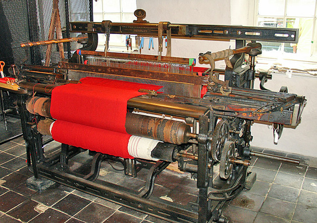Invention of Power Loom.