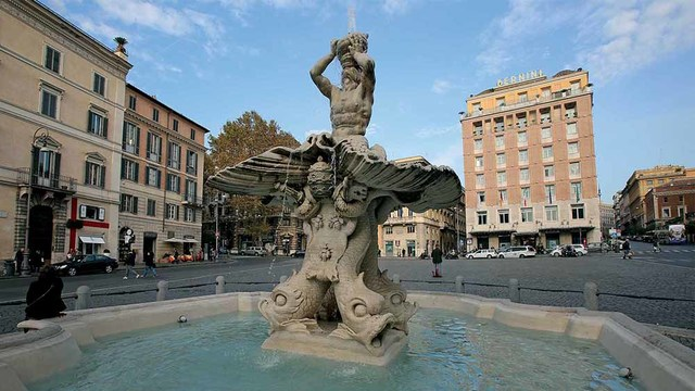 Bernini, Fontana del Tritone