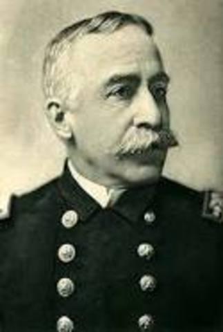 Spanish-American War Commodore George Dewey