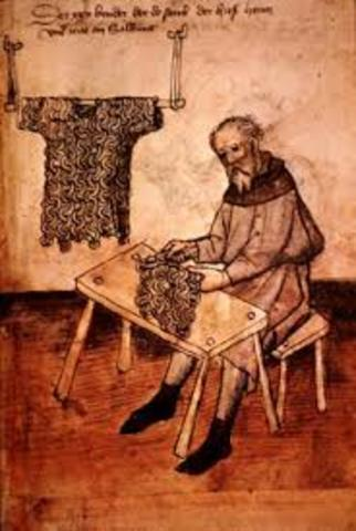 Siglo XII Trabajo artesanal