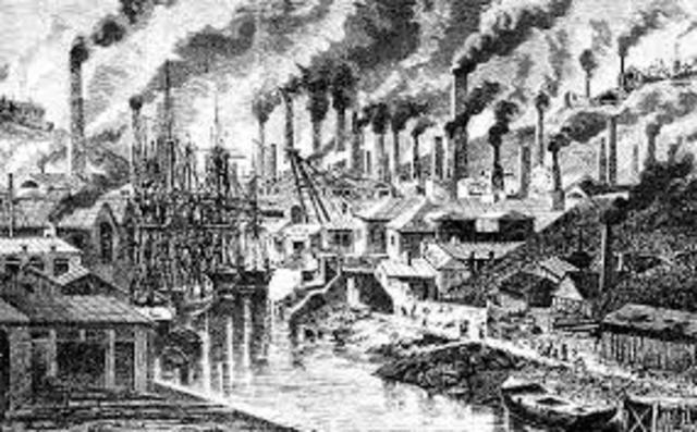 Siglo XVII Inicio de la Revolución Industrial
