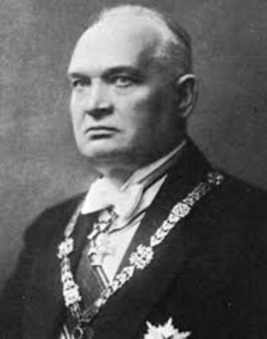 Eesti president Konstantin Päts