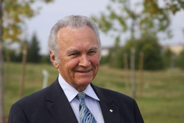 Eesti presidemt Arnold Rüütel