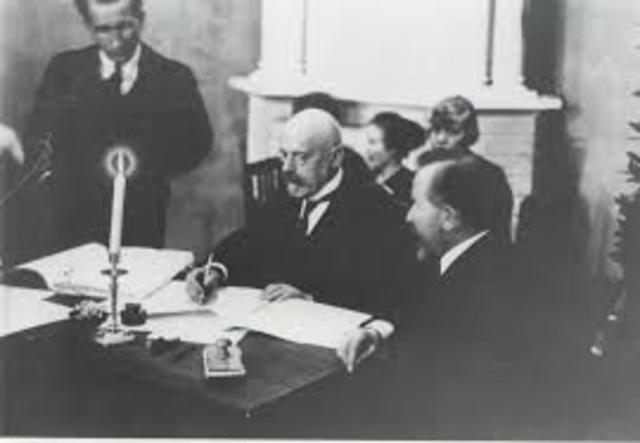 Tartu Rahulepingu sõlmiti