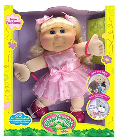 toys/cabbage patch doll