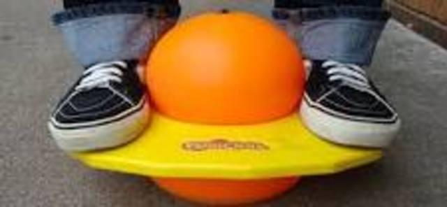 toy/ pogo ball