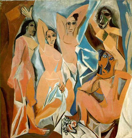 Las Señoritas de Avignon (Picasso)