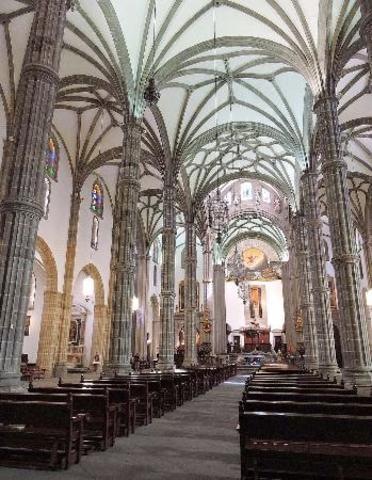 Interior de la Catedral de Santa Ana