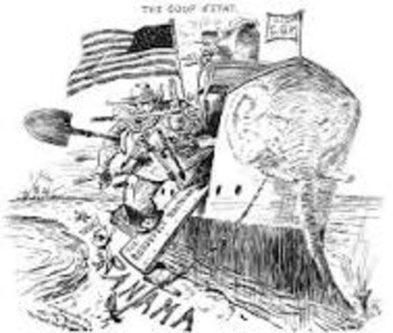 Panama Canal Panama Revolution
