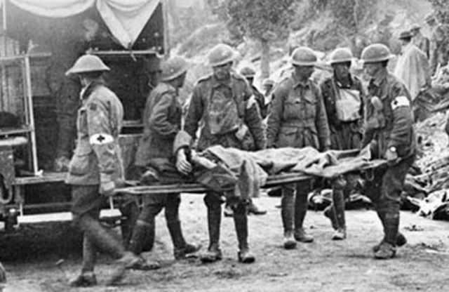 World War I Western Front Casualty