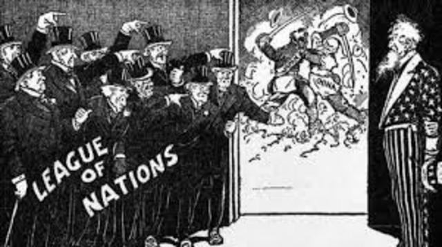 World War I League of Nations