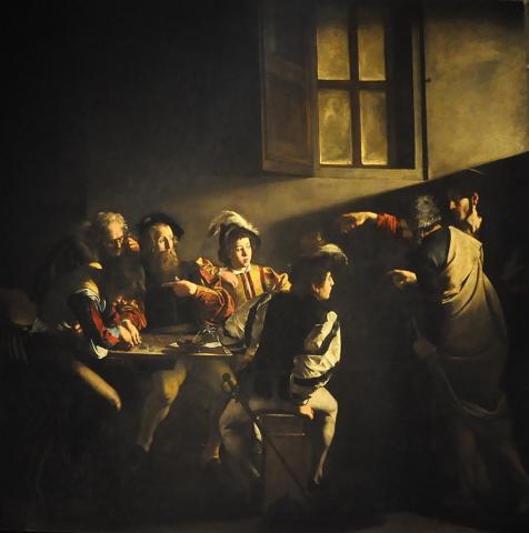 Vocación de San Mateo (Caravaggio)